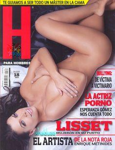 Lisset Revista H Septiembre 2014 [Scans HQ] | FamosasMex