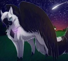 Ravenflight. She cat with no mate or kits, 19 moons old. She is shy and quiet, but once you get to know her she never shuts up, and is very energetic and humorous. She loves to fly above camp and hunt thrushes, and she is the fastest flyer in the clan. She is also very swift and aggressive on land. She very loyal and strongly believes in Starclan and the warrior code. (Me)