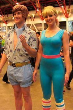 Barbie y Ken Toy Story