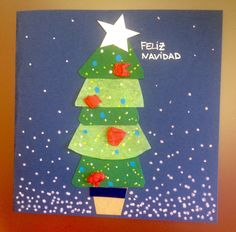 #christmascards #handmade #postales #tarjetas #navidad #ARBOL