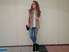 Camisa con jeans