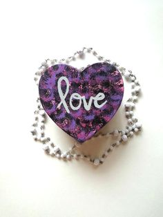 Love heart shaped jewelry box for home or room decor by StarrJoy16, $8.00