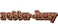 Retta~Kay LOGO * Create Custom Retta~Kay logo * Brownie STYLE *