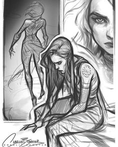 Some more doodles!  #charliebowater #art