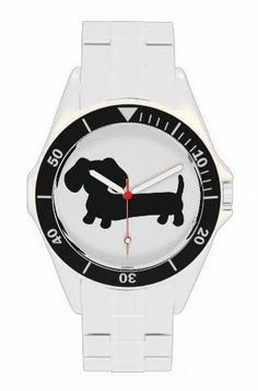 Hey Santa . . . !! Yes, please.......Stainless Steel Dachshund Watch – The Smoothe Store