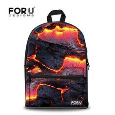 Stylish 3D Flower Printing Backpack for Girls Designer Teenage Floral  Backpack Casual Children Bookbag Women Travel Backbag 809119a4abb88