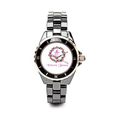 EleganceElegant Luxury Ceramic Watches Christianity Buying Watches Online BlackGold Women * See this great product.