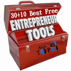 40 Best Free Tools For An Entrepreneurs For Best Outputs and Makes Us to Do Our Works in Less Time and Grows Our Business Online & Offline http://www.alltop9.com/2014/10/3010-best-tools-for-entrepreneurs.html