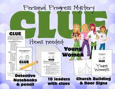 Personal Progress Clue Image