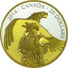 20 Dollar Silber Die Legende von Nanaboozhoo: Nanaboozhoo und Donnervogel PP