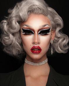 Pin on Makeup Drag Queen Makeup, Drag Makeup, Makeup Art, Beauty Makeup, Eye Makeup, Hair Makeup, Media Makeup, Rupaul, Makeup Inspo
