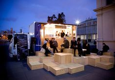 Chasing Kitsune Japanese Food Truck by HASSELL