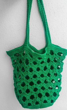 Moda Emo, Net Bag, Simple Bags, Lana, Crochet Top, Projects To Try, Cool Stuff, Handmade, Inspiration