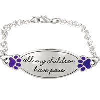 All My Children Have Paws Bracelet at The Animal Rescue Site