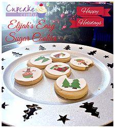 Elijah's Easy Sugar Cookies Cupcake Cakes, Cupcakes, Easy Sugar Cookies, Pudding, Posts, Desserts, Blog, Tailgate Desserts, Messages