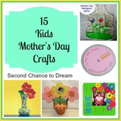 15 Mother's Day Crafts For Kids