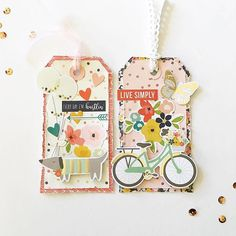 The super sweet and lovely @paper_sweetpea has some gorgeous little tags she has created for us today using the @simplestories_ Posh Collection.. just love them .. all products can be found in the #sassystore ..#scrapbooking #tags #poshcollection #simplestories #sassyscrappers #papercraft