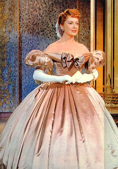 "I CRAVED this dress as a youngster...it has ""swing me around the palace room"" written all over it! Deborah Kerr in the movie The King and I"