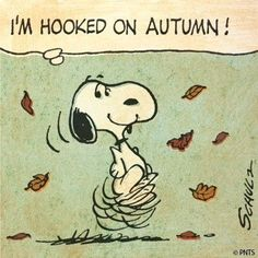 Two of my favourite things! #Peanuts #Autumn