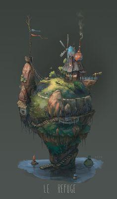 Le Refuge by Pierre-Antoine Moelo