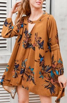 b30518f0355 Featuring A Canary Cat Dress from Pasaboho ⭐ Shop boho chic fashion dress  gypsy style clothes    floral fashion    street ...