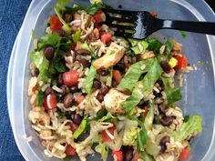 21 Day Fix Week 1 Update Lunch from Chipotle!! Yummy and Fix approved!