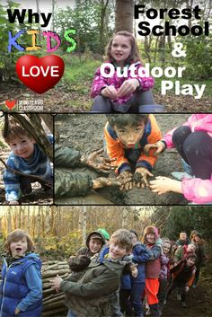 VIDEO - Watch this video about why kids love Forest School and outdoor play, all from the children's perspective. Child-led outdoor play is so important for kids social and emotional learning, for problem solving and discovering the wonders of nature and our environment. It should be part of the curriculum!