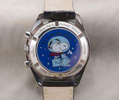 Omega Speedmaster Snoopy - back