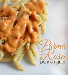 Homemade Parma Rosa Penne Rigate Pasta Recipe