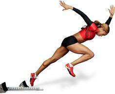 Sanya Richards-Ross, 2012 Olympic hopeful. Wow.