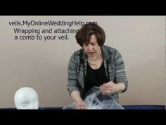 Step 5: How to Make a Veil with Comb - My Online Wedding Help Budget Wedding Blog