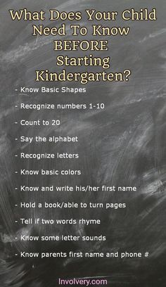 Ready for Kindergarten? What your child needs to know BEFORE starting kindergarten this year. Ready for Kindergarten? What your child needs to know BEFORE starting kindergarten this year. Toddler Learning, Preschool Learning, Preschool Activities, Teaching Kids, Teaching Letters, Family Activities, Starting Kindergarten, Kindergarten Readiness, Kindergarten Ready Checklist