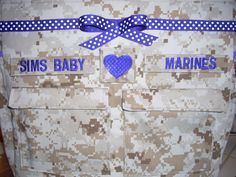 Desert Marine camo diaper bag free tags on bag custom embroidery all military fabrics available your choice colors by bythebayoriginals on Etsy