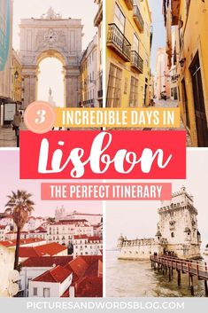 The Perfect 3 Days in Lisbon Itinerary | The Ultimate Lisbon Travel Guide | Amazing Things to Do in Lisbon | Lisbon Tips | Portugal Travel | Where to Eat in Lisbon | Where to Stay in Lisbon | Lisbon Aesthetic | Lisbon Activities | Lisbon Things to Do | Lisbon Portugal Travel Guide | Portugal Travel Tips | Lisbon Must Dos | Portugal Itinerary Inspiration | Europe Travel | Lisbon Portugal Aesthetic | Lisbon Guide | Best Lisbon food Top European Destinations, Europe Travel Tips, Travel Guides, Lisbon Guide, Lisbon Food, Stuff To Do, Things To Do, Portugal Travel Guide, Lisbon Portugal