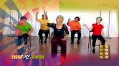 Dance Along Workout for Seniors and Elderly - Low Impact Dance Exercise on Chairs, via YouTube.