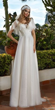 f5b10e6e3be2 Svadobné+šaty+Victoria+Soprano+2017 Biele Svadobné Šaty