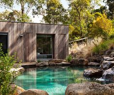 landscape photo Your neighbour has put in a brand-new pool so what did it actually cost? We give you the budget and the background on six swoon-worthy swimming pool designs. Swimming Pool Cost, Amazing Swimming Pools, Luxury Swimming Pools, Natural Swimming Pools, Swimming Pool Designs, Cool Pools, Luxury Pools, Dream Pools, Swimming Ponds