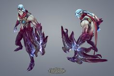 Character Varus for the League of Legends Game. Completed the in-game model and texture.