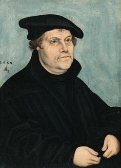 Luther at the age of 50 Cranach