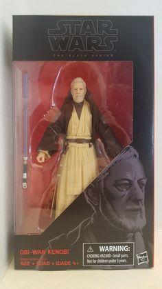 Star Wars the Black Series Obi Wan Kenobi - New MIB - IN STOCK #Hasbro #BlackSeries #ObiWan #oldbenkenobi #StarWars