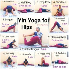 Yin Yoga Sequence for Hips Who all love yin? 🙋 My practice today was a wonder… Yin yoga sequence for hips Who all love yin? 🙋 My practice today was a wonderful 75 minutes . So I thought I'd share the … Yoga Fitness, Fitness Workouts, Fitness Motivation, Fitness Memes, Fitness Plan, Fitness Watch, Physical Fitness, Fitness Tips, Health Fitness