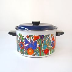 MidCentury Villeroy & Boch Acapulco Stock Pot by RattyAndCatty, $90.00