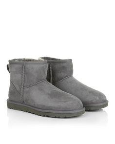 UGG Boots & Booties - W Classic Mini Grey - in grau - Boots & Booties für Damen