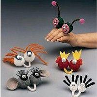 Finger friend puppets