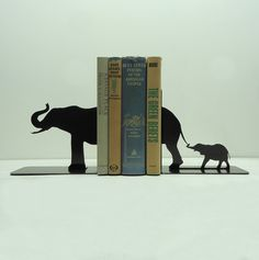 Great bookends from KnobCreekMetalArts