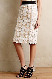 Paillette Pencil Skirt - anthropologie.com
