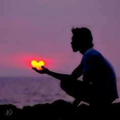 a heart ...
