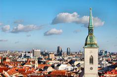 . Bratislava, Empire State Building, Great Places, Big Ben, Statue Of Liberty, Paris Skyline, Photo Art, To Go, Louvre