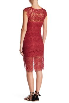 Peek A Boo Lace Dress