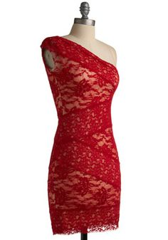 Infrared Lace Dress, #ModCloth